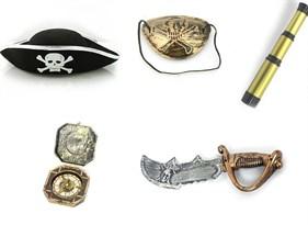 Купить Набор аксессуаров Джека Воробья Пираты Каррибского Моря (Pirates of the Caribbean)