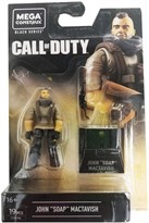 Конструктор фигурка Джон Соуп МакТавиш Кол оф Дьюти (Call of Duty John Soap MacTavish Mega Construx Heroes Wave 3 Mini-Figure) купить оригинал