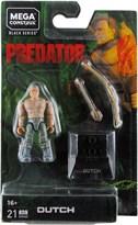 Конструктор фигурка Датч из фильма Хищник Mega Construx Heroes Wave 2 Mini-Figure Predator Dutch купить оригинал