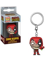 Брелок Funko Зомби Дэдпул (Marvel Zombies Deadpool Pocket Pop Key Chain) купить оригинал