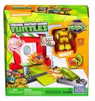 Конструктор Майки и пиццерия Черепашки Ниндзя (Mega Construx Teenage Mutant Ninja Turtles Half-Shell Heroes Pizzeria Hideout) 54 детали купить оригинал