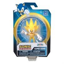 Подвижная фигурка Супер Соник (Super Sonic the Hedgehog Figure Wave 2) 10 см купить оригинал