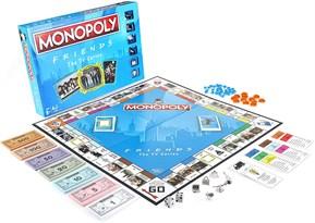 Монополия по мотивам сериала Друзья (Monopoly Friends The TV Series Edition Board Game) купить в Москве