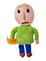 Плюшевая кукла игрушка Baldis Basics с линейкой (Балди Басикс игрушка) купить в Москве