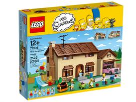 Дом Симпсонов (лего на 2523 детали)
