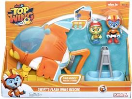 Набор Свифт и спасательный самолет (Hasbro Top Wing Swift's Flash Wing Rescue Vehicle) купить оригинал