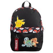 Рюкзак Покеболы и Покемоны (Bioworld Pokemon Trainer Pokeball Backpack) купить оригинал