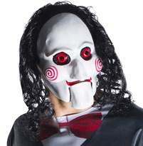 Маска Билли из фильма Пила (Adult Jigsaw Billy 1/2 Mask) купить в России