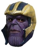 """Маска Таноса в шлеме """"Мстители: Финал"""" (Adult Avengers: Endgame Thanos 3/4 Vinyl Mask) купить в России с доставкой"""