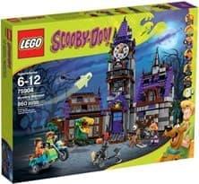 Таинственный особняк (Lego Scooby Doo 860 дет)