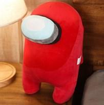 Красная мягкая игрушка Амонг Ас (Among Us) 30 см купить