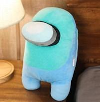 Голубая мягкая игрушка Амонг Ас (Among Us) 30 см купить