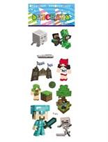 Купить набор наклеек Майнкрафт (Minecraft)