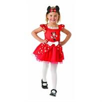 Костюм Минни Маус Красная Балерина (Red Minnie Mouse Ballerina Rubie's Costume) оригинал Рубис