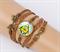 Браслет Широкий Билл Шифр из мультфильма Gravity Falls - фото 13662