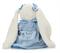 Плюшевая игрушка зайка в платье 30 см