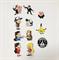 Полный комплект наклеек Gravity Falls купить недорого