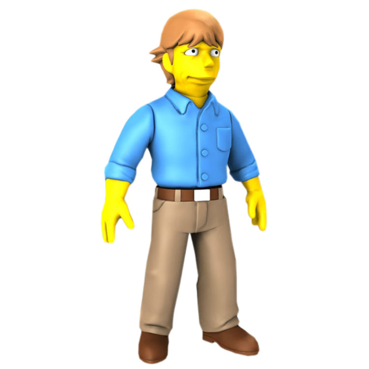 Фигурка The Simpsons 5 - Mark Hamill