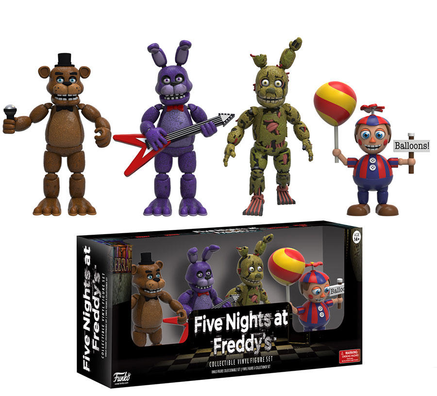 Complete Set Of Five Night's